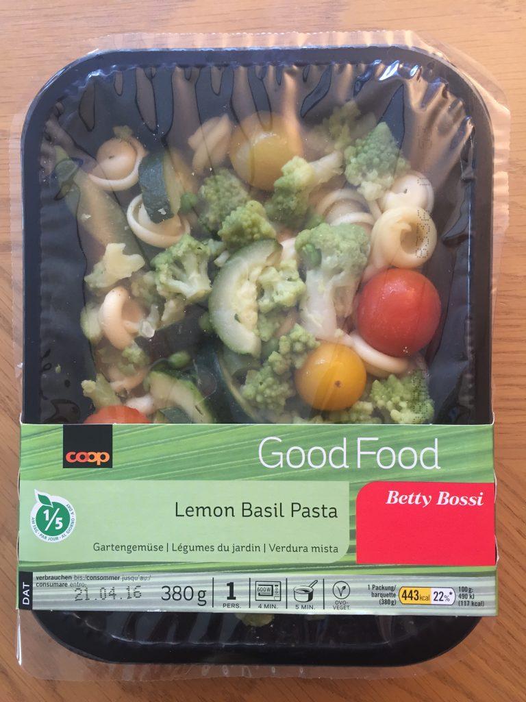 Lemon Basil Pasta - verpackt