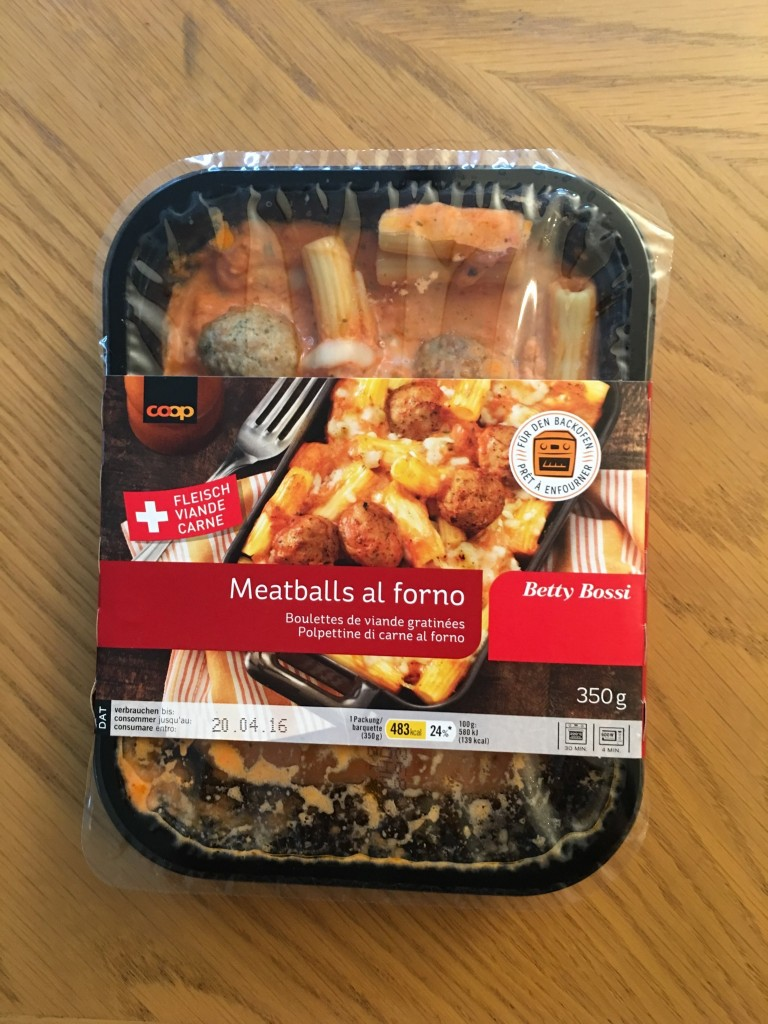Meatballs al forno - verpackt