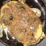 Moussaka mit gegrillten Auberginen - angerichtet