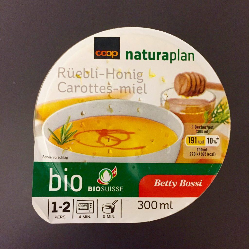 Ruebli-Honig Suppe verpackt